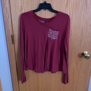 cute long sleeve with pocket